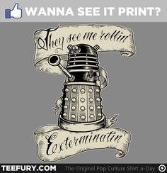 They see me rollin', EXTERMINATIN'