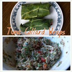 Tuna Collard Wraps | Fighting for Wellness