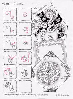 Shnek pattern by zenjoy