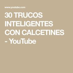 30 TRUCOS INTELIGENTES CON CALCETINES - YouTube Power Clean, Youtube, Tips, Zapatos, Oven Glove, Umbrellas, Hacks, Youtubers, Youtube Movies
