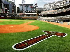 The official website of the Atlanta Braves with the most up-to-date information on scores, schedule, stats, tickets, and team news. Baseball Live, Baseball Pitching, Basketball Shooting, Braves Baseball, Baseball Field Dimensions, Baseball Series, Basketball Information, Mlb Stadiums