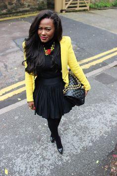Black & Yellow   Soraya De Carvalho