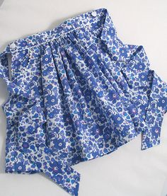 Liberty Betsy Skirt for a Little Girl