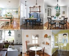 10 Clever Ideas to Design a Small Dining Room - http://www.amazinginteriordesign.com/10-clever-ideas-to-design-a-small-dining-room/