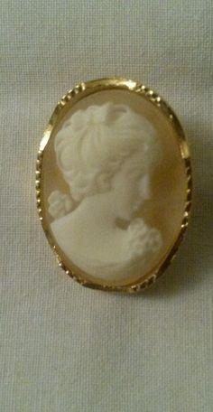 Vintage Sphinx cameo brooch marked C152 Brooches, Gemstone Rings, Gemstones, Vintage, Jewelry, Jewlery, Brooch, Gems, Bijoux
