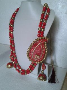 2014 traditional and fashionable terracotta jewel designs in bharatmoms.com