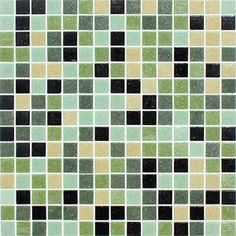 ACADIANA BLEND - Kaleidoscope 20mm Vitreous Glass Mosaic Tiles $6.25 per sheet at MosaicTileSupplies.com