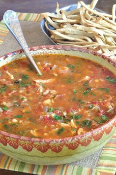 Chicken Enchilada Soup   Food Hero - Healthy Recipes that are Fast, Fun and Inexpensive