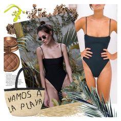 """Salamander Bikini Shop"" by gaby-mil ❤ liked on Polyvore featuring Dolce&Gabbana, Laura Geller and Sensi Studio"