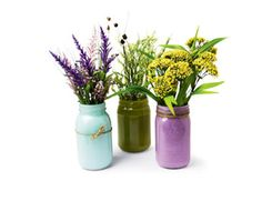Cre8time™ Painted Jar Vase