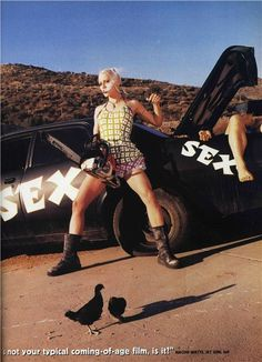 Lori Petty as Tank Girl photographed by David Lachapelle for The Face, June 1995