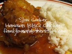 Slow Cooker Hawaiian BBQ #Chicken #Recipe