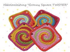 Ebook: Granny Square TWISTER – English version available!
