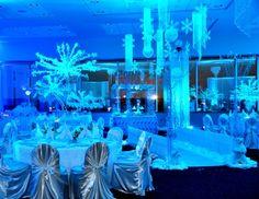 Snowflake Balloon Centerpiece | San Antonio Wedding Planner, Decorations, Floral Designer, Bridal ...
