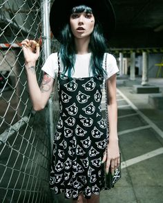 Killstar Purr - Grunge Skater Dress