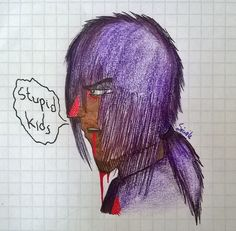 Vincent from fnaf. History lesson in school is so boriing....