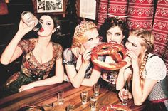 Heimat: Ellen von Unwerth's Enchanted Tour Around Bavaria | Trendland