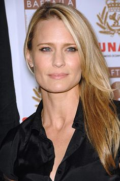Robin Wright Penn - or Robin Wright as I think she divorced Penn. She's perfect to play the part of Elan in The FINS Trilogy.