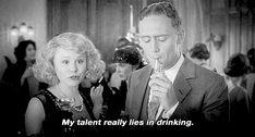 My talent really lies in drinking. Zelda Fitzgerald in Midnight in Paris Love Movie, Movie Tv, Scott And Zelda Fitzgerald, Georgia On My Mind, Let Her Go, Nurse Humor, Spirit Animal, Good Movies, True Stories