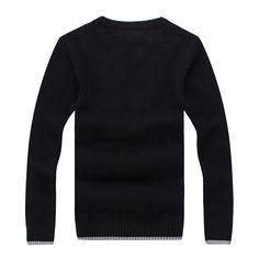 S, Black Men T-Shirt ღ Ninasill ღ Autumn/&Winter Plain Cotton Tee Casual Bottoming Tops