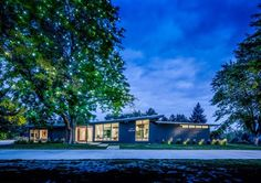 Mid-Century modern villa