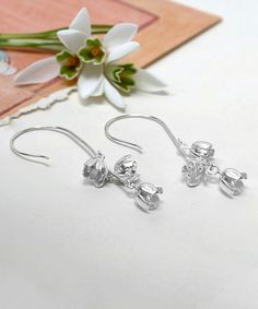 Take a look at this Martha Jackson Sterling Silver Blossom Bells Drop Earrings today!