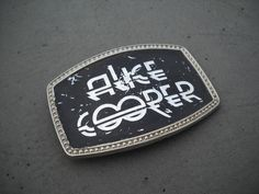 Vintage Alice Cooper Belt Buckle