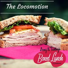 For chicken lovers, The Locomotion is a perfect sandwich choice. Served with honey mustard on the side, you can't go wrong with this delicious sandwich.