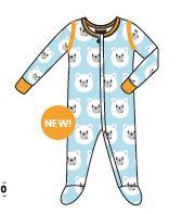 Pyjama avec pieds ours polaires 30€