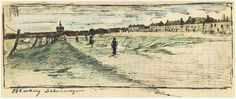 Vincent van Gogh Bleaching Ground Letter Sketches