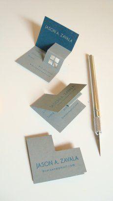 WE ♥ THIS! ----------------------------- Original Pin Caption: Pop Up Business Card