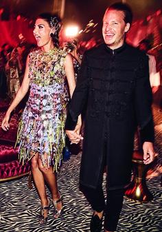 Photos from Giovanna Battaglia's Over-the-Top Wedding to Oscar Engelbe | W Magazine