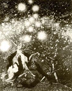 Sidney Sime (English, 1867-1941)  Illustrations, circa 1908-1911
