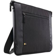 """Case Logic INT115BLACK 15.6"""" INTRATA Notebook Bag"""