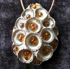 Honeycomb Ceramic Pendant | Flickr - Photo Sharing!
