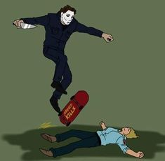 Fox / 19 / all of my love for Michael Myers is dumped here (and some other slashers) Horror Movies Funny, Horror Movie Characters, Scary Movies, Horror Icons, Horror Art, Michael Myers, Freddy Krueger, Slasher Movies, Comedy Movies
