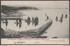 Mevagissey Luggers, Cornwall, 1904 - S J Dalby-Smith Postcard
