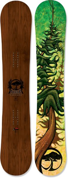 Arbor Cascade Snowboard - One of the Best made.