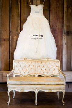 reStyled Vintage Rentals + A Discount!  Read more - http://www.stylemepretty.com/ohio-weddings/columbus/2014/01/16/restyled-vintage-rentals/