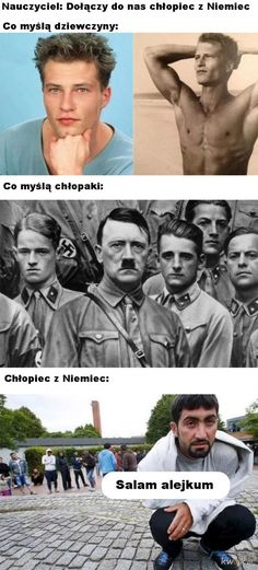 Wtf Funny, Funny Memes, Jokes, Polish Memes, Best Memes, I Laughed, Haha, Funny Pictures, Blond