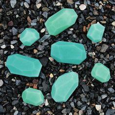 NEW Small Batch Soap Stones by PELLE: Sea Glass/Pine Mint by PELLE  @cody borgman Stonerock