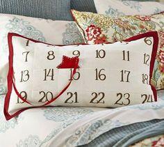 Advent Pillow.