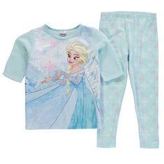 Girls Disney Frozen Fleece Pyjamas