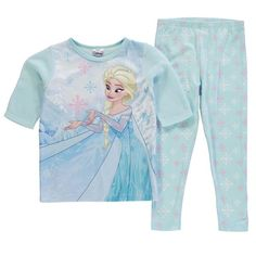 Girls Disney Frozen Fleece Pyjamas