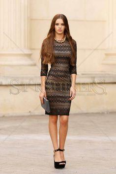 Divine Moment Black Dress