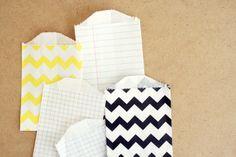 Mini Pattern Packaging Bags