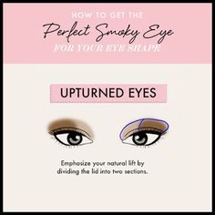 Upturned Eyes - Land The Perfect Smoky Eye for Your Eye Shape