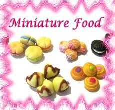 polymer clay dolls house sweets - Google Search