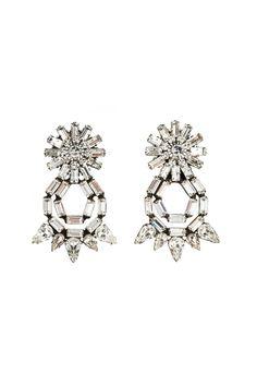 "Dannijo's New Bridal Line: Statement Jewelry That Says ""We Do"" #refinery29  http://www.refinery29.com/2014/08/72219/dannijo-bridal#slide28  Dannijo Grace Bridesmaid Earrings, $320, available at Dannijo."