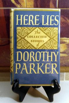 Check out this item in my Etsy shop https://www.etsy.com/listing/451307554/dorothy-parker-the-collected-stories-of